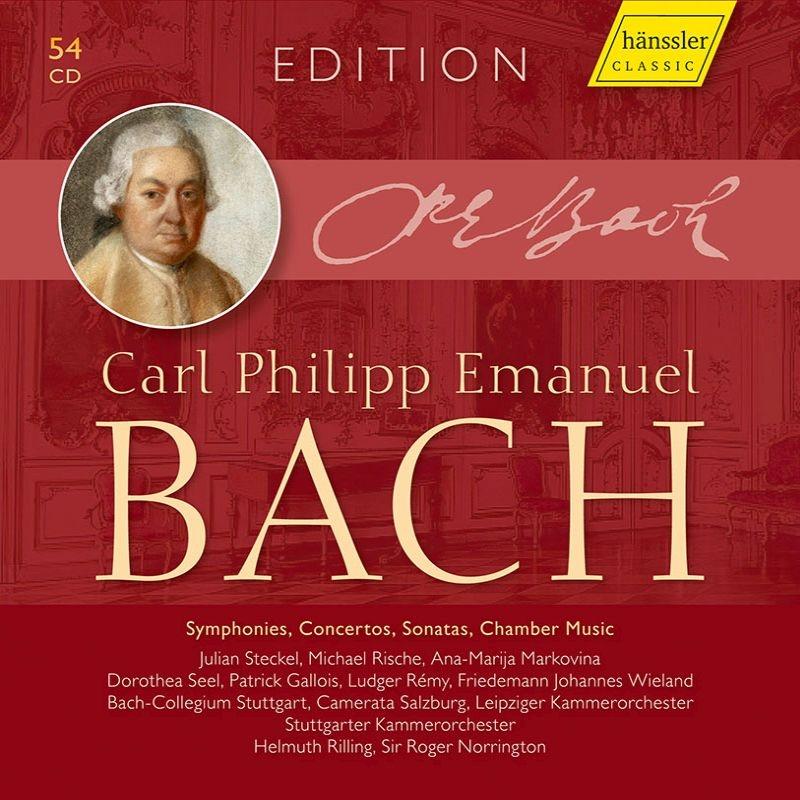 カール・フィリップ・エマヌエル・バッハ・エディション(54CD)