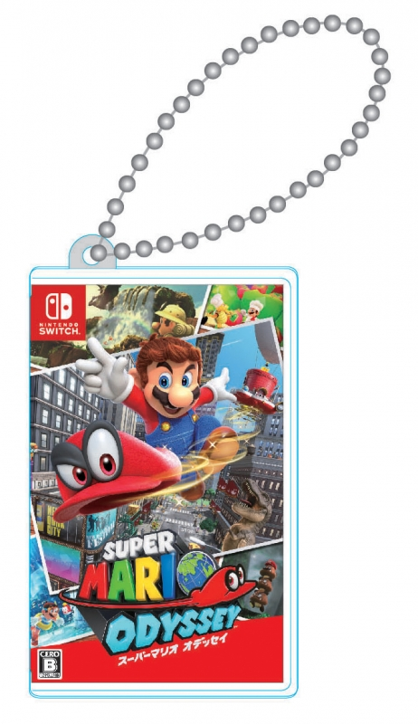 Nintendo Switch専用カードポケットmini スーパーマリオオデッセイ
