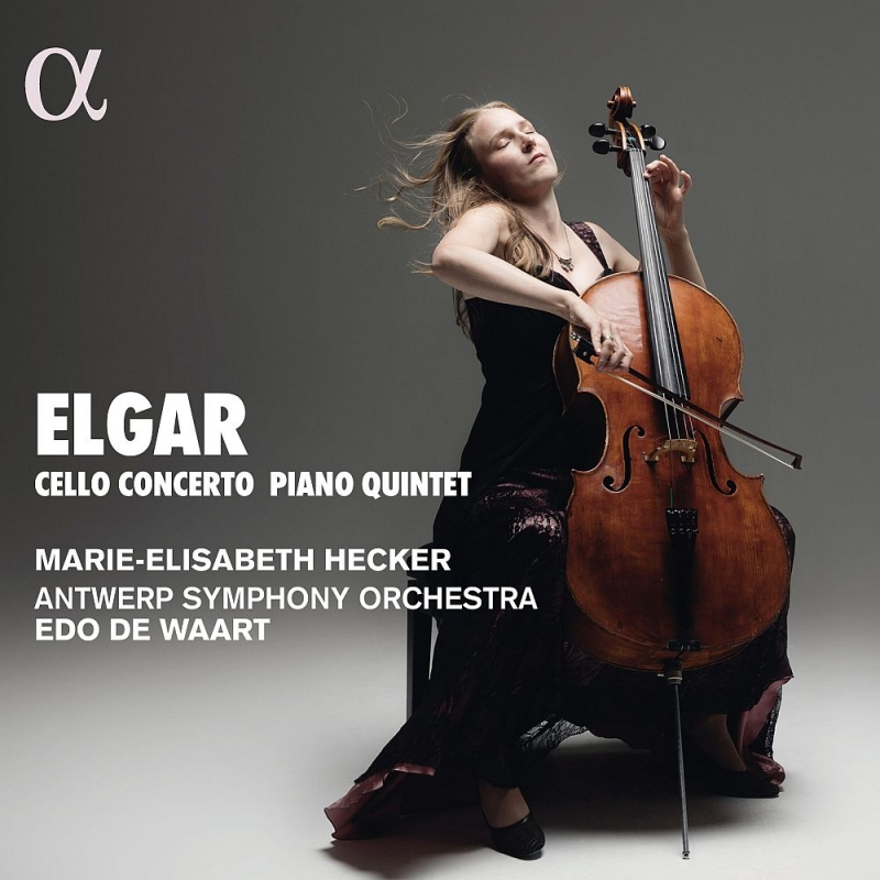 チェロ協奏曲、ピアノ五重奏曲、ため息 マリー=エリザベス・ヘッカー、エド・デ・ワールト&アントワープ交響楽団、マルティン・ヘルムヒェン