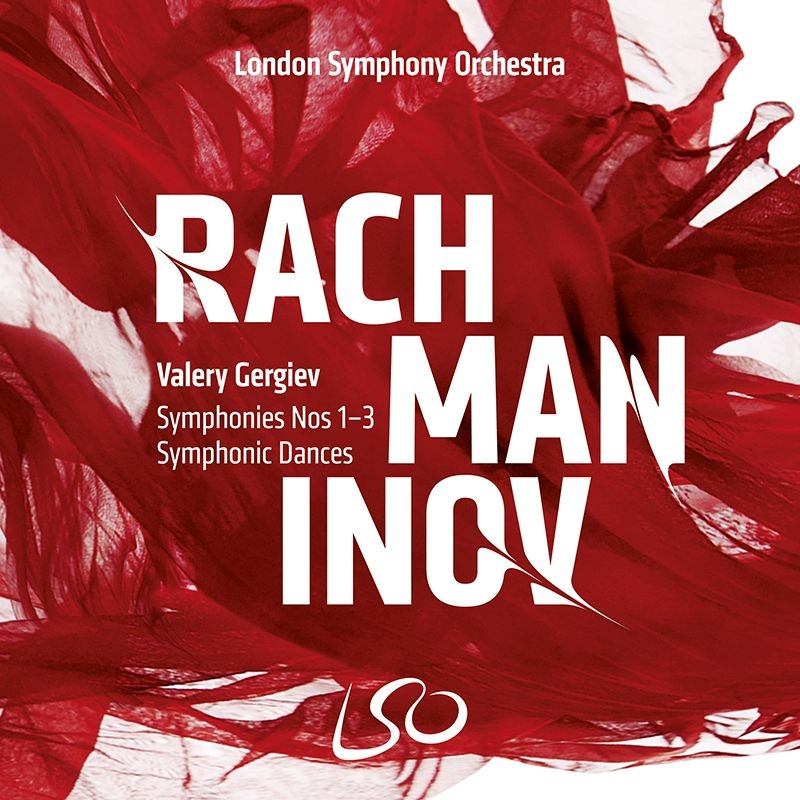Symphonies Nos.1-3, Symphonic Dances, etc : Valery Gergiev / London Symphony Orchestra (3SACD)(Hybrid)(+blu-ray Audio)