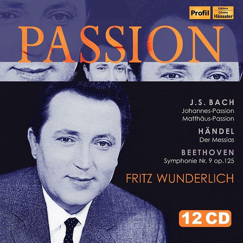 『Passion〜フリッツ・ヴンダーリヒ/受難曲、オラトリオ・ライヴ集』 カール・リヒター、カール・ベーム、他(12CD)