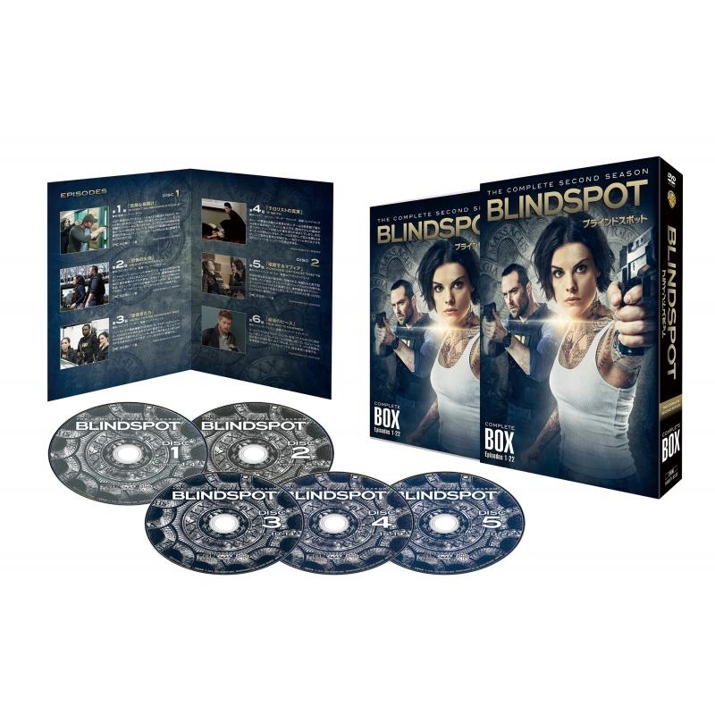 ブラインドスポット<セカンド・シーズン>DVD コンプリート・ボックス(5枚組)