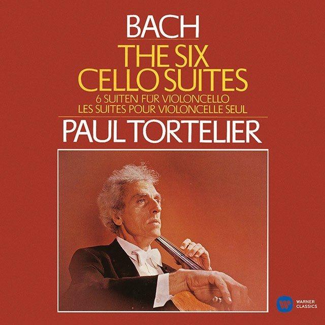 無伴奏チェロ組曲全曲 ポール・トルトゥリエ(1982)(2CD)