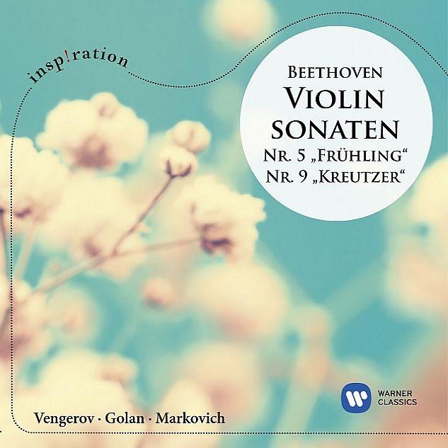 ヴァイオリン・ソナタ第5番『春』、第9番『クロイツェル』 マキシム・ヴェンゲーロフ、イタマール・ゴラン、アレクサンドル・マルコヴィチ