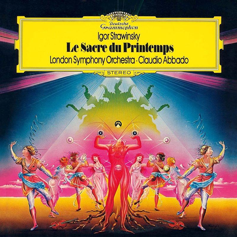 『春の祭典』『カルタ遊び』『火の鳥』組曲 クラウディオ・アバド&ロンドン交響楽団