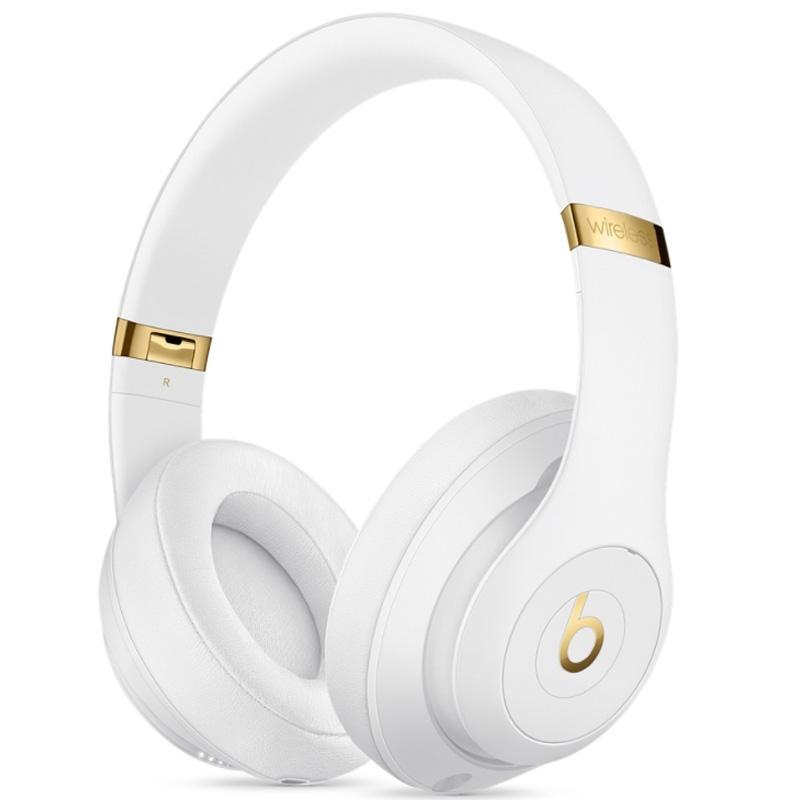 b4a513ee20ee12 Beats Studio3 Wirelessオーバーイヤーヘッドフォン ホワイト Apple ...