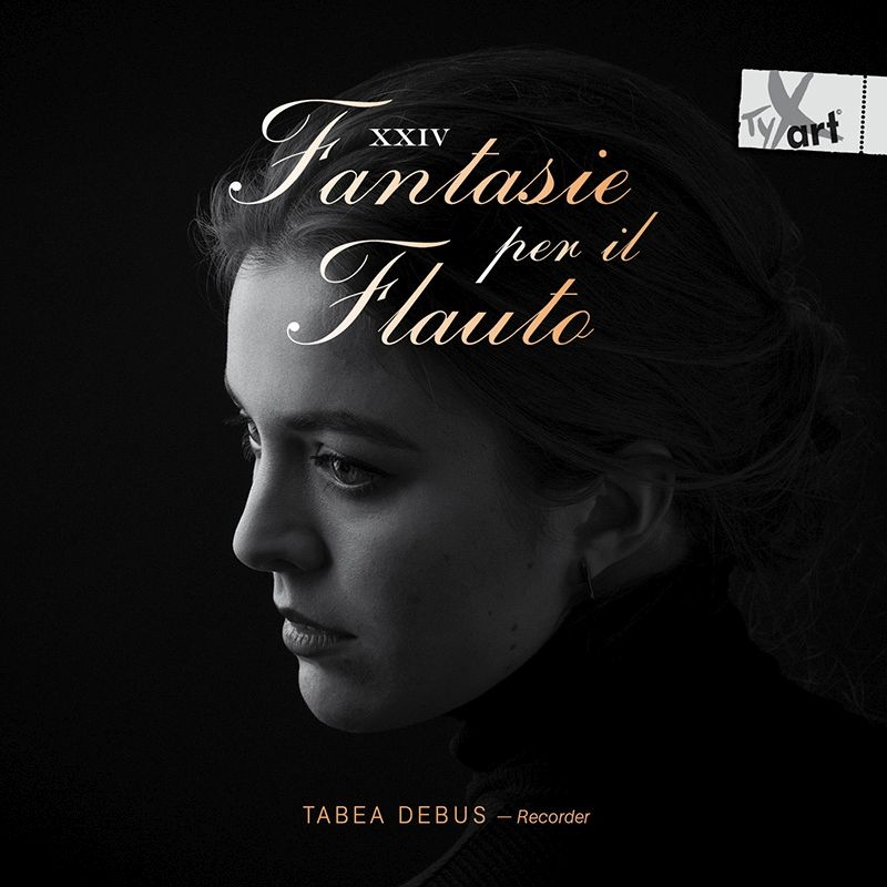 『フルートのための24の幻想曲〜テレマン:12の幻想曲と12人の現代作曲家による』 タベア・デブス(リコーダー)