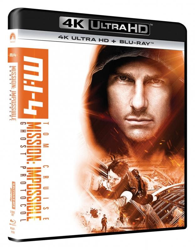 ミッション:インポッシブル/ゴースト・プロトコル [4K ULTRA HD +Blu-rayセット]