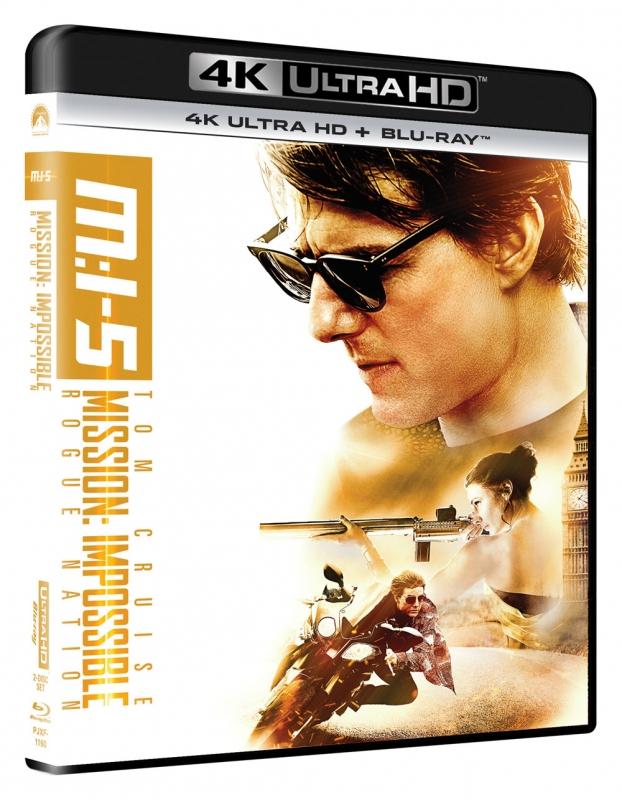 ミッション:インポッシブル/ローグ・ネイション [4K ULTRA HD +Blu-rayセット]