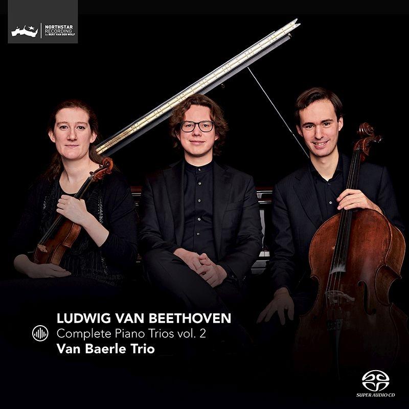 ピアノ三重奏曲第2番、交響曲第2番(ピアノ三重奏版)、アレグレット ファン・ベーレ・トリオ