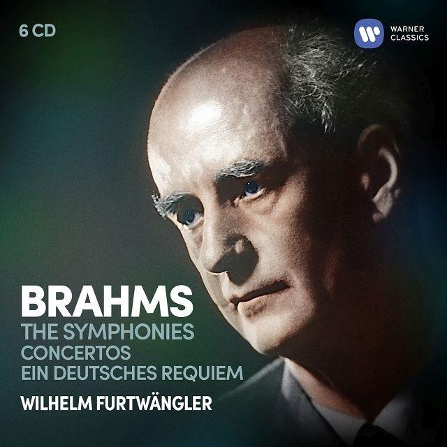 交響曲全集、協奏曲集、ドイツ・レクィエム ヴィルヘルム・フルトヴェングラー&ウィーン・フィル、ベルリン・フィル、ストックホルム・フィル、他(6CD)