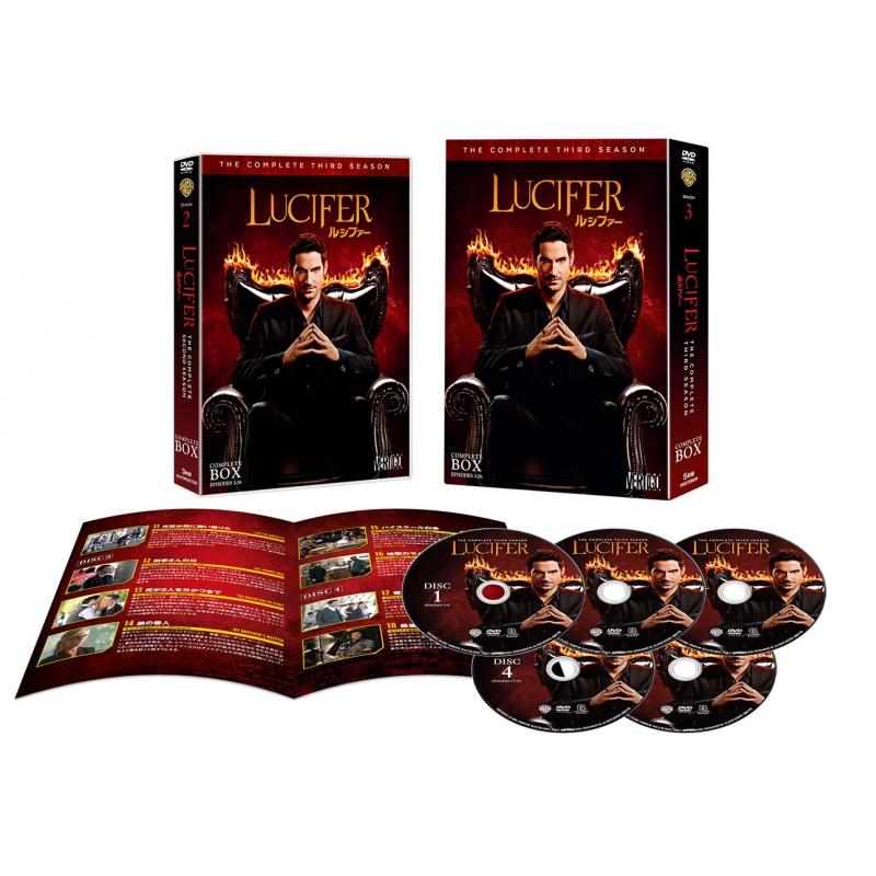 LUCIFER/ルシファー<サード・シーズン>DVDコンプリート・ボックス(5枚組)