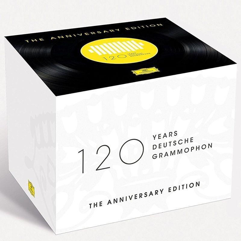 ドイツ・グラモフォン創立120周年記念ボックス(121CD+1BDA)