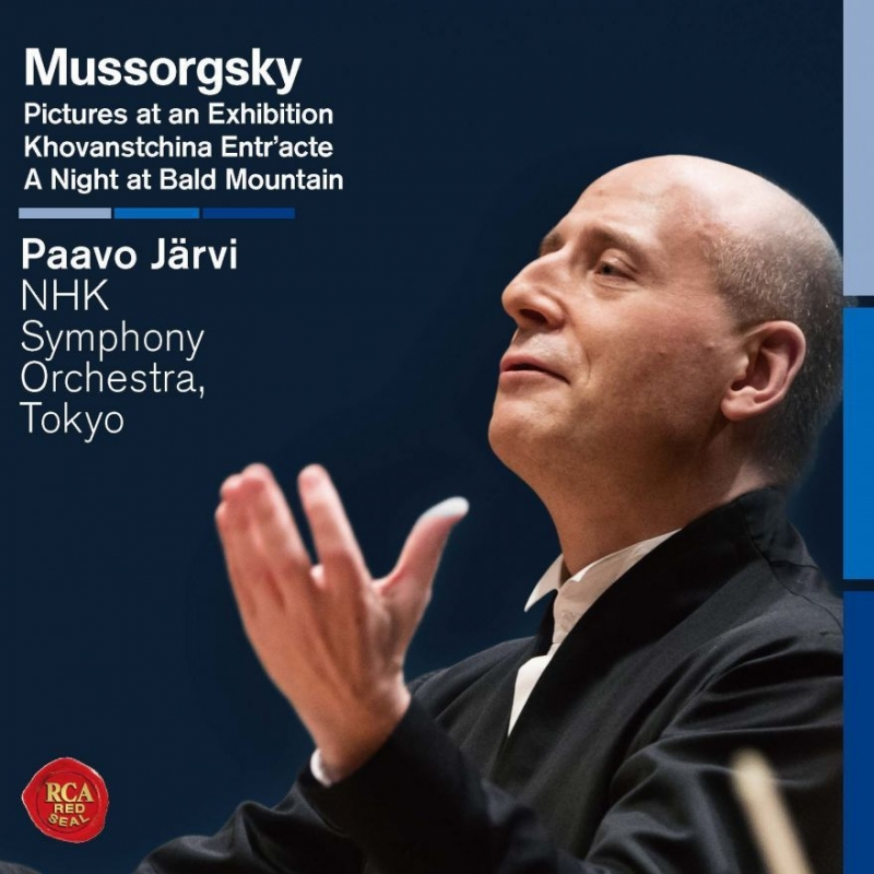 Pictures at an Exhibition, A Night on Bare Mountain, etc : Paavo Jarvi / NHK Symphony Orchestra (Hybrid)
