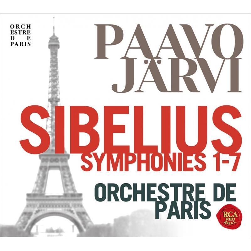 Complete Symphonies : Paavo Jarvi / Paris Orchestra (3SACD)(Hybrid)