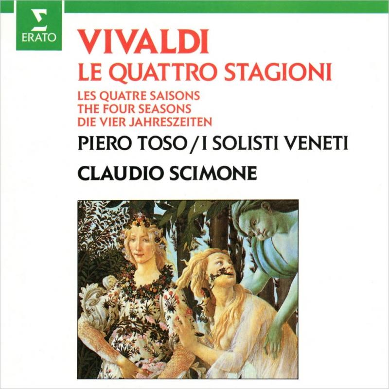 四季 クラウディオ・シモーネ&イ・ソリスィ・ヴェネティ、ピエロ・トーゾ(1982)