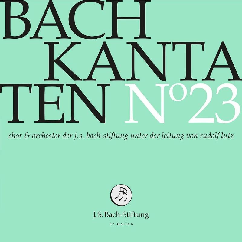 カンタータ集 第23集〜第109番、第164番、第187番 ルドルフ・ルッツ&バッハ財団管弦楽団