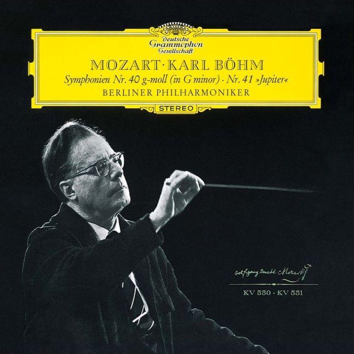 交響曲第40番、第41番『ジュピター』 カール・ベーム&ベルリン・フィル