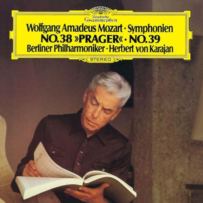 交響曲第36番『リンツ』、第38番『プラハ』、第39番 ヘルベルト・フォン・カラヤン&ベルリン・フィル(1975-77)