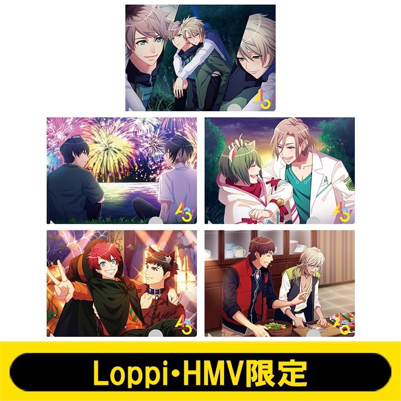 クリアファイルセットA(5枚1セット)【Loppi・HMV限定】