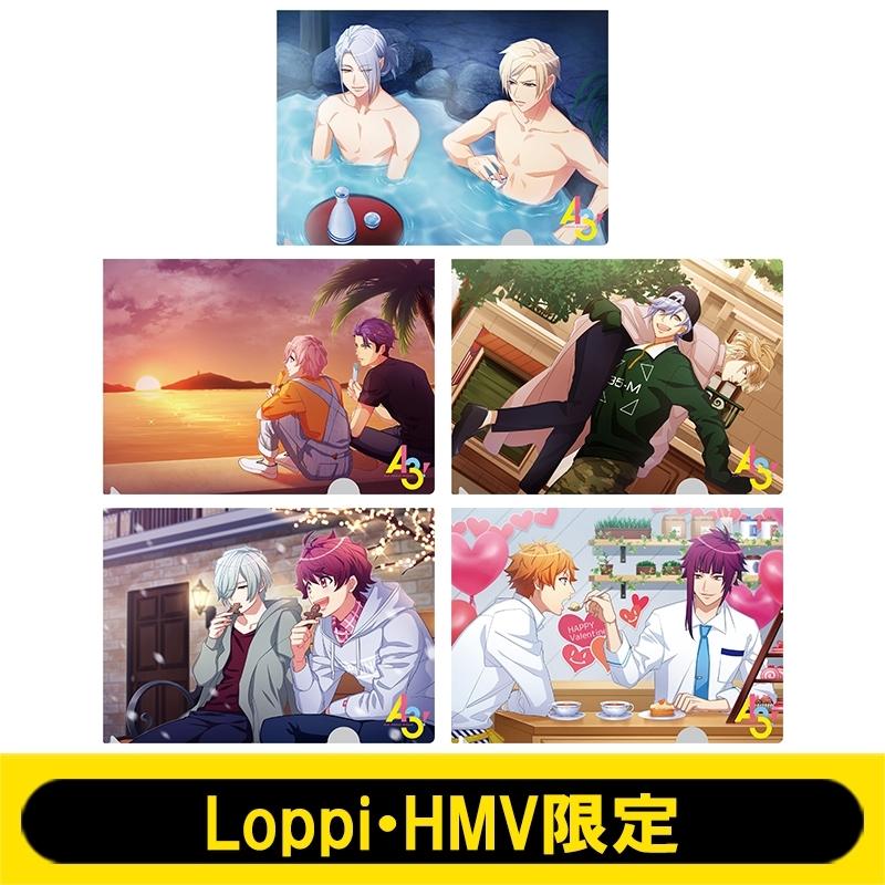 クリアファイルセットB(5枚1セット)【Loppi・HMV限定】