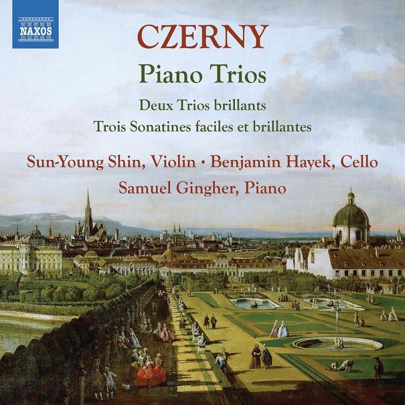 ピアノ三重奏曲集 シン・サンヨン、ベンジャミン・ハイエク、サムエル・ギングハー