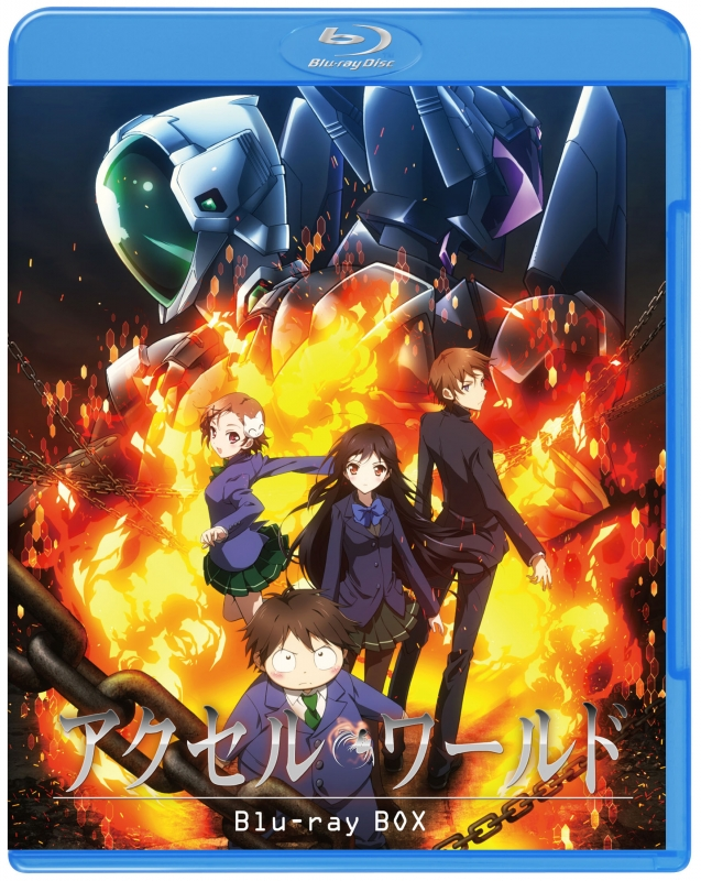 Accel World Blu-Ray Box<special Price Ban>