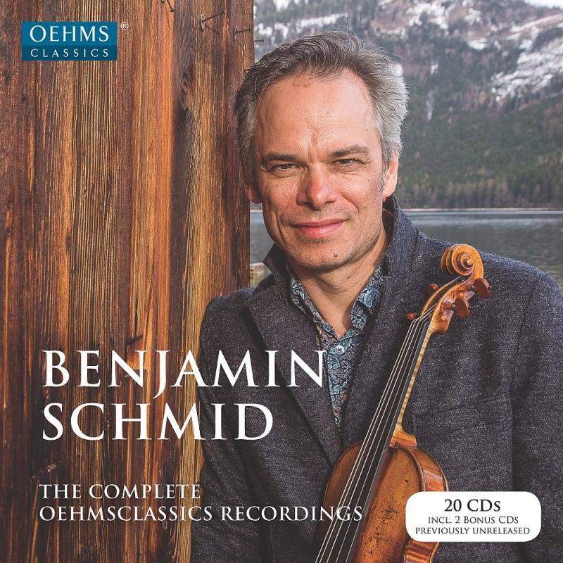 ベンヤミン・シュミット/OEHMS録音全集(20CD)