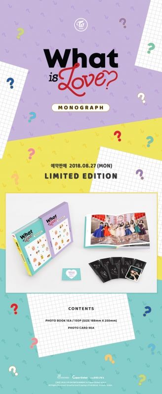 TWICE MONOGRAPH What is Love? <LIMITED EDITION>