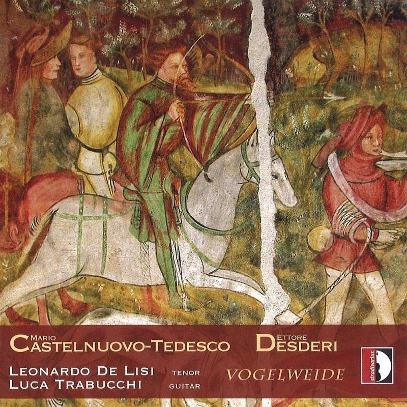 Vogelweide: De Lisi(T)Trabucchi(G)+desderi: Guitar Sonata, Etc