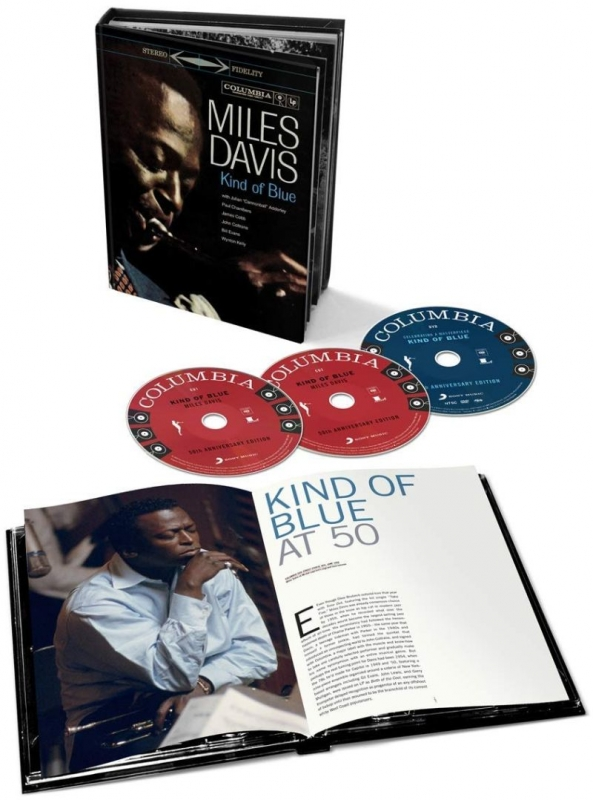 Kind Of Blue Deluxe 50th Anniversary Collector's Edition: (Bookset)(2CD+1DVD)