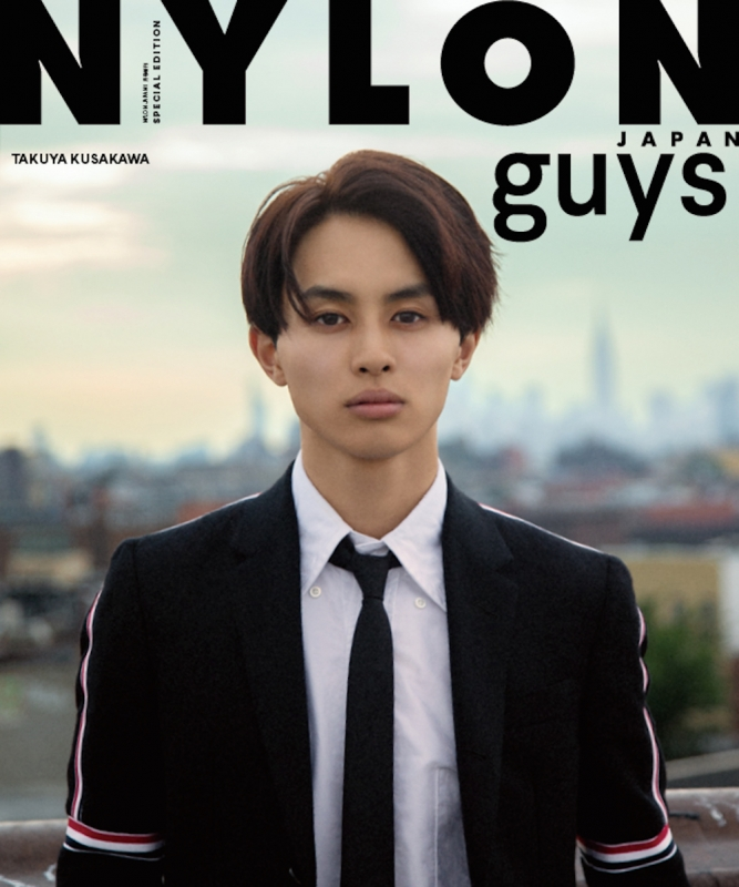 NYLON guys JAPAN TAKUYA STYLE BOOK NYLON JAPAN 2019年 1月号増刊