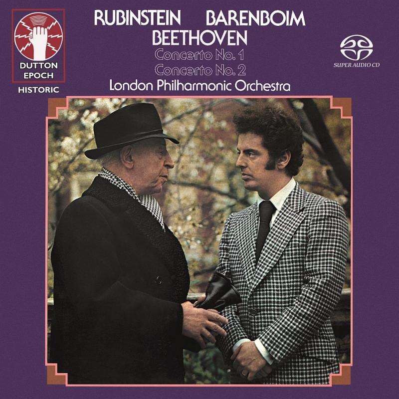 ピアノ協奏曲第1番、第2番 アルトゥール・ルービンシュタイン、ダニエル・バレンボイム&ロンドン・フィル