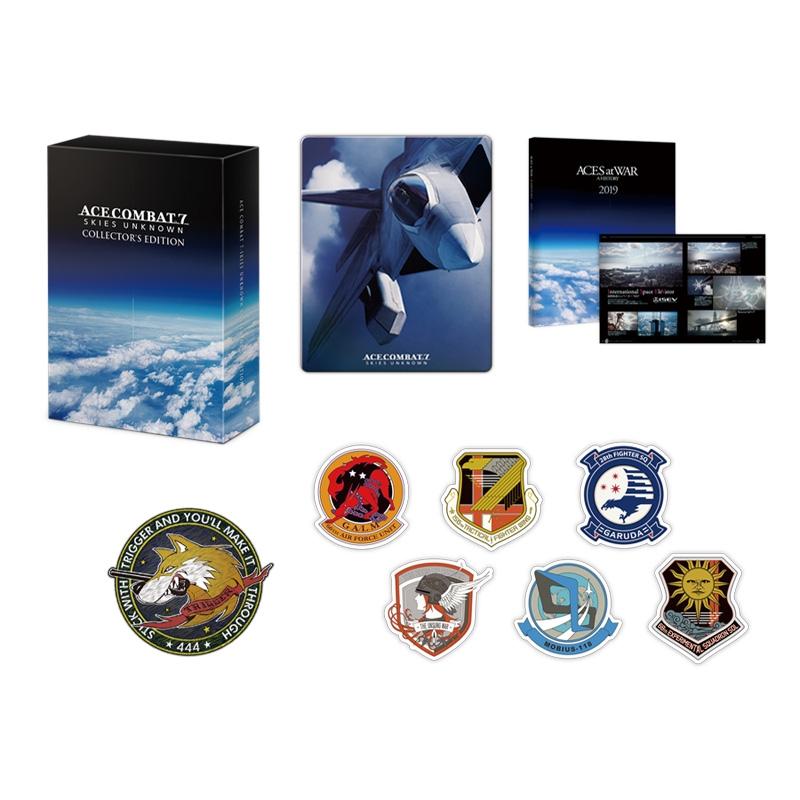 【PS4】エースコンバット7 スカイズ・アンノウン コレクターズエディション≪Loppi・HMV限定特典:缶バッジ≫