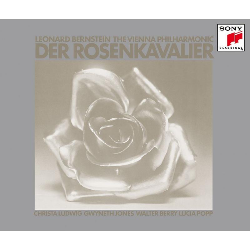 『ばらの騎士』全曲 レナード・バーンスタイン&ウィーン・フィル、クリスタ・ルートヴィヒ、ヴァルター・ベリー、他(1971 ステレオ)(3SACD)