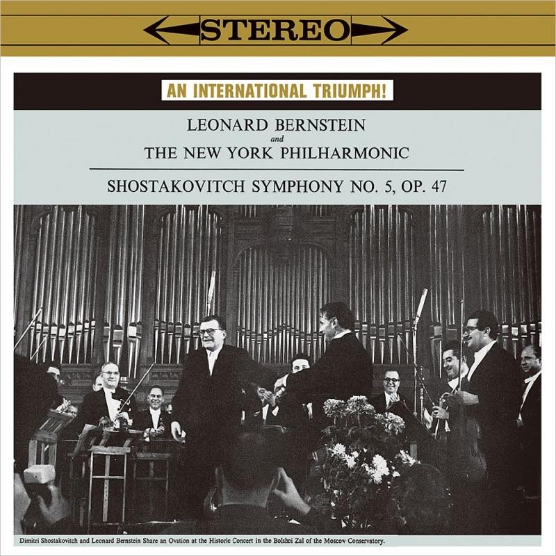 ショスタコーヴィチ:交響曲第5番『革命』(1959)、コープランド:『ビリー・ザ・キッド』組曲 レナード・バーンスタイン&ニューヨーク・フィル