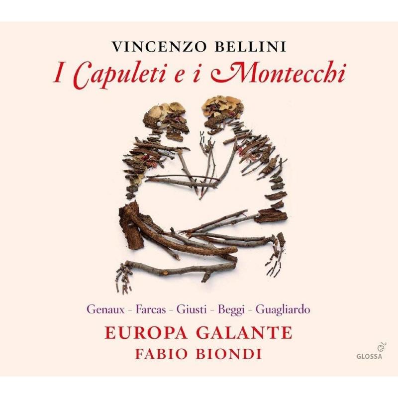 『カプレーティとモンテッキ』全曲 ファビオ・ビオンディ&エウローパ・ガランテ、ヴィヴィカ・ジュノー、ヴァレンティナ・ファルカシュ、他(2014 ステレオ)(2CD)