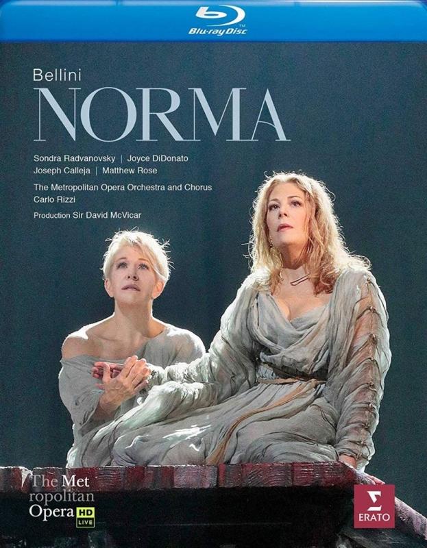 『ノルマ』全曲 マクヴィカー演出、カルロ・リッツィ&メトロポリタン歌劇場、ソンドラ・ラドヴァノフスキー、ジョイス・ディドナート、他(2017 ステレオ)