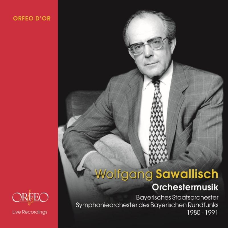 ヴォルフガング・サヴァリッシュ/オルフェオ名演集 1980-1991 バイエルン国立管弦楽団、バイエルン放送交響楽団(8CD)