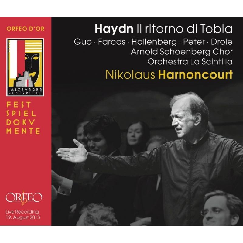 オラトリオ『トビアの帰還』 ニコラウス・アーノンクール&ラ・シンティッラ管弦楽団、アルノルト・シェーンベルク合唱団(2013)(2CD)