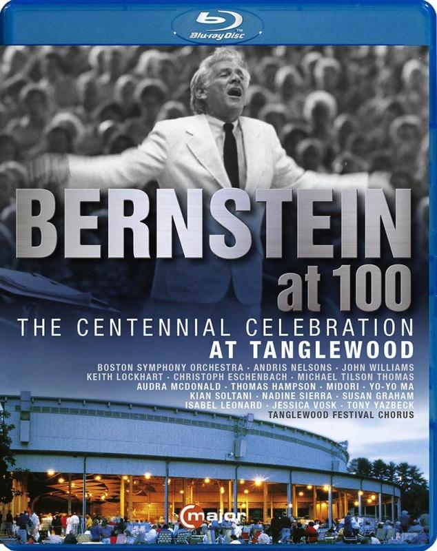 バーンスタイン生誕100周年記念〜タングルウッド音楽祭 ボストン交響楽団、ネルソンス、ティルソン・トーマス、エッシェンバッハ、他