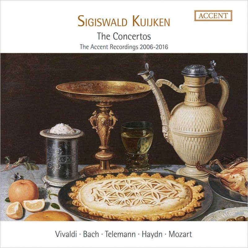 シギスヴァルト・クイケン 協奏曲録音集成 2006-2016(10CD)