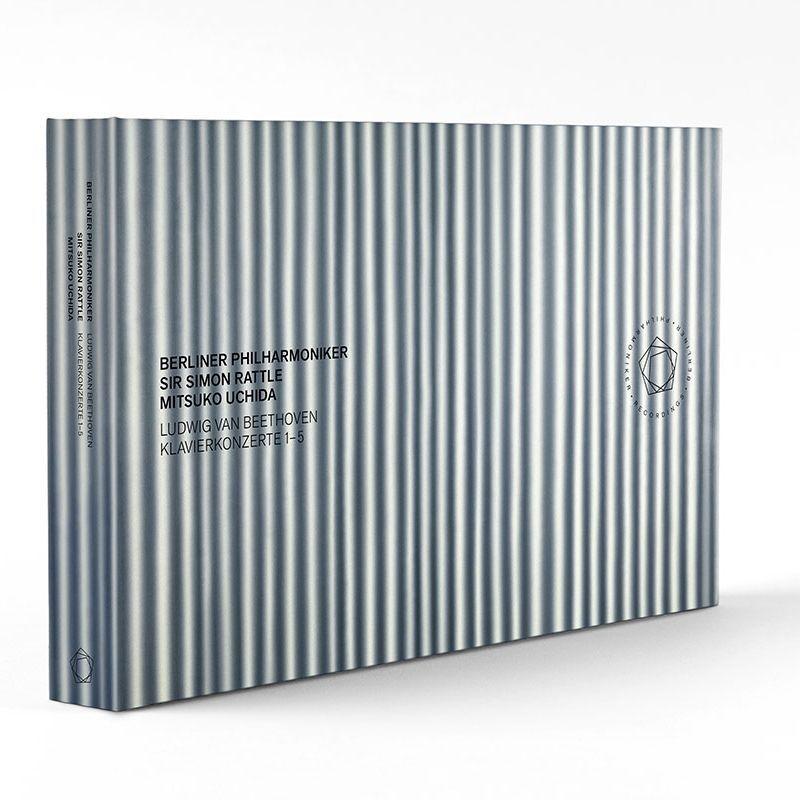 ピアノ協奏曲全集 内田光子、サイモン・ラトル&ベルリン・フィル(3CD+2BD)
