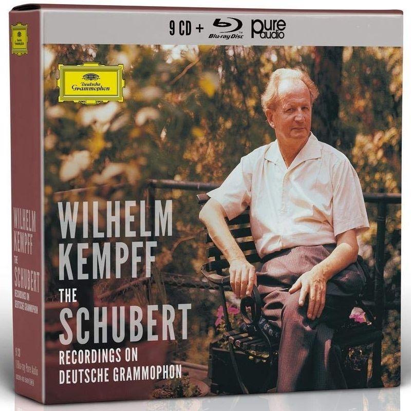 『DGへのシューベルト録音集〜ピアノ・ソナタ全集、『さすらい人』幻想曲、即興曲集、楽興の時、他』 ヴィルヘルム・ケンプ(9CD+ブルーレイ・オーディオ)