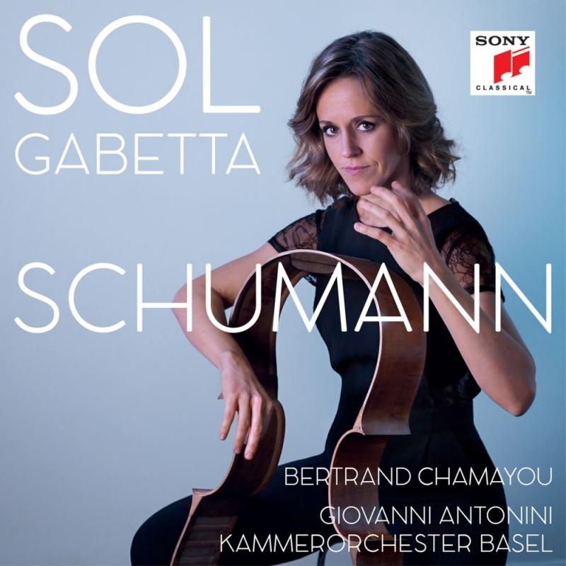 チェロ協奏曲、チェロ作品集 ソル・ガベッタ、ジョヴァンニ・アントニーニ&バーゼル室内管弦楽団、ベルトラン・シャマユ