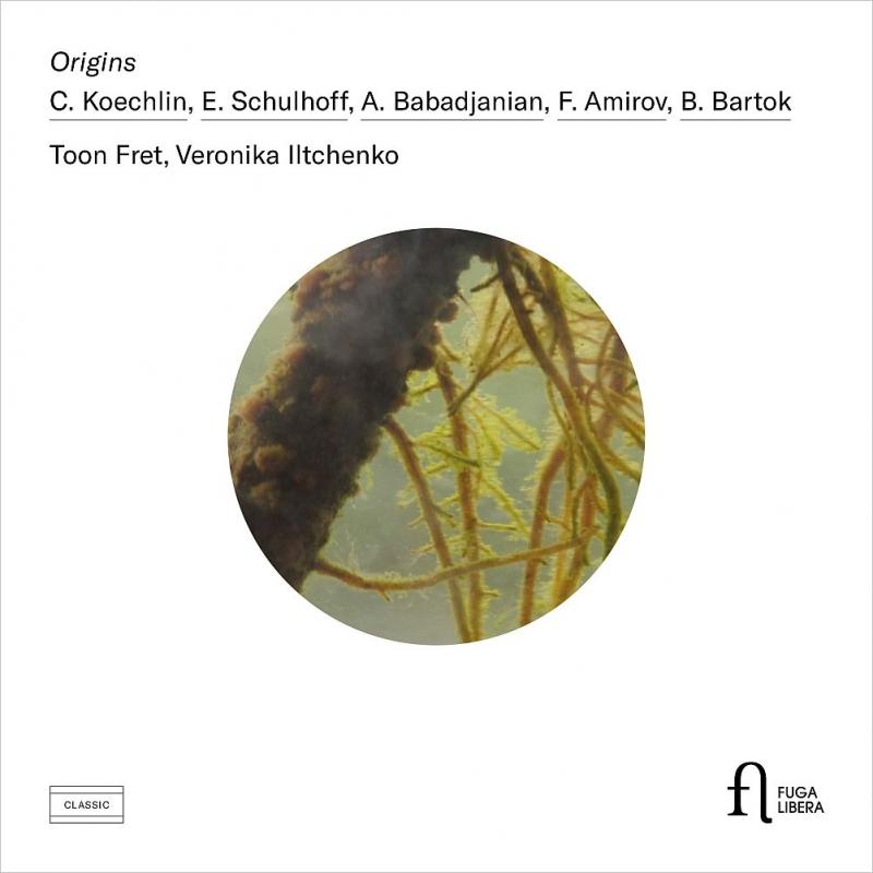 フルートとピアノのための作品集〜ケクラン、シュルホフ、ババジャニアン、アミロフ、バルトーク トーン・フレット、ヴェロニカ・イリチェンコ