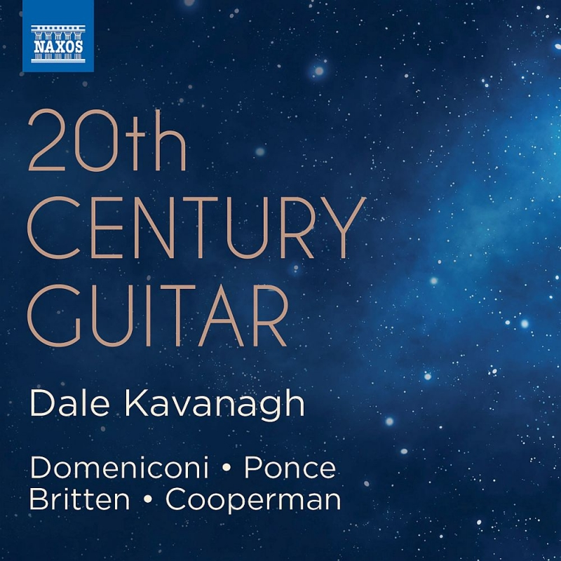 20世紀のギター作品集 デイル・カヴァナー