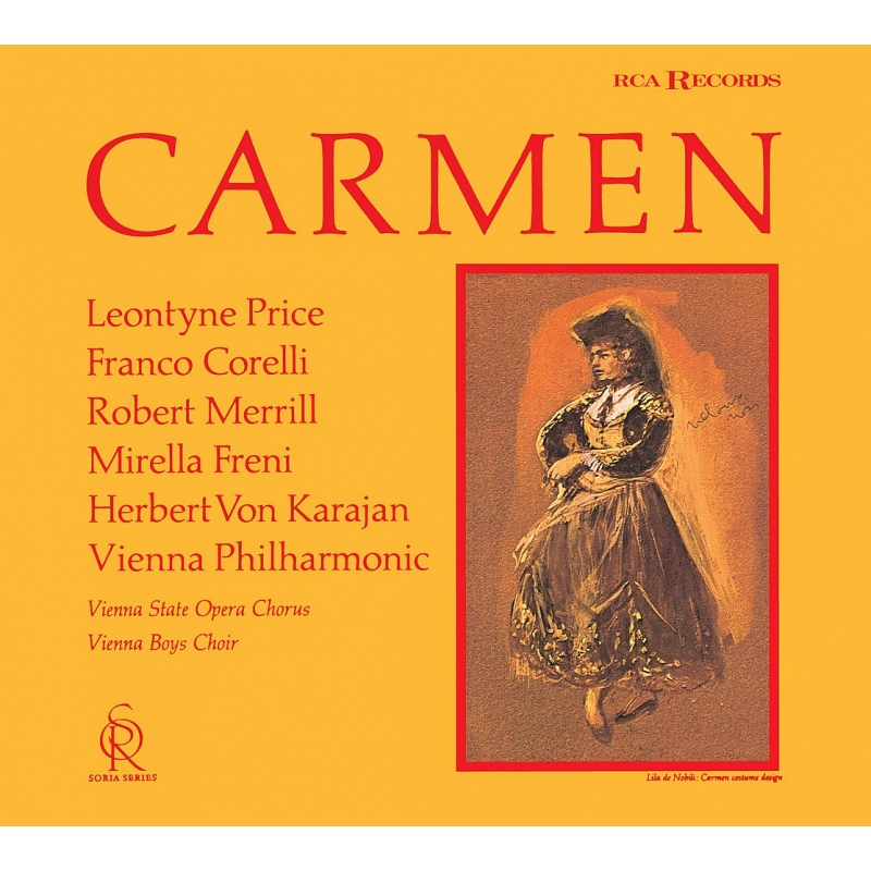 『カルメン』全曲 ヘルベルト・フォン・カラヤン&ウィーン・フィル、レオンティーン・プライス、フランコ・コレッリ、他(1963 ステレオ)(2SACDシングルレイヤー)