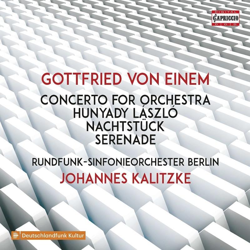管弦楽のための協奏曲、フニャディ・ラースロー、セレナード、夜の小品 ヨハネス・カリツケ&ベルリン放送交響楽団