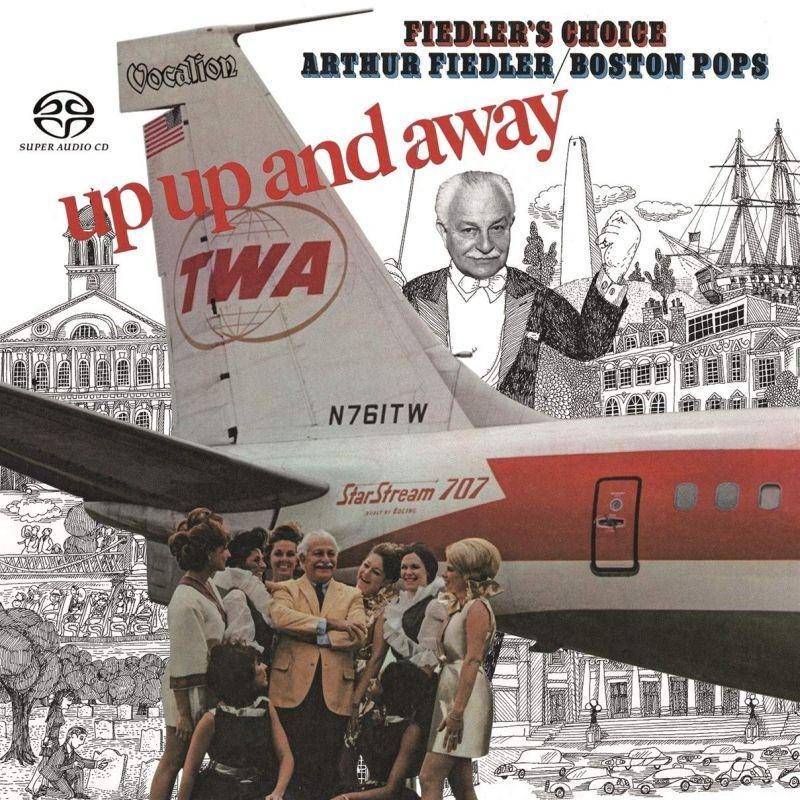 『Up,Up and Away』『Fiedler'S Choice』 アーサー・フィードラー&ボストン・ポップス・オーケストラ